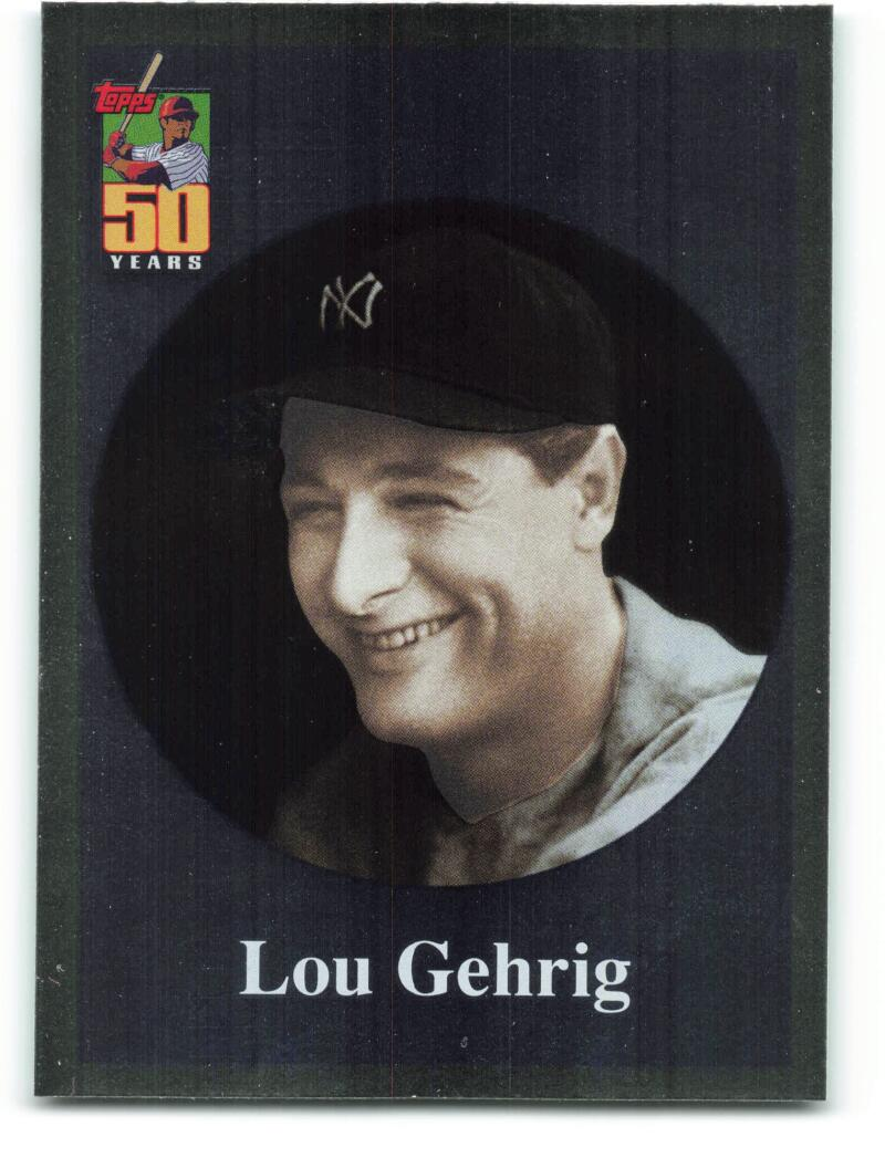 2001 Topps  Before There Was Topps