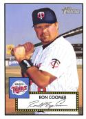 2001 Topps Heritage #109 Ron Coomer