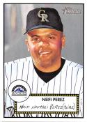2001 Topps Heritage #155 Neifi Perez