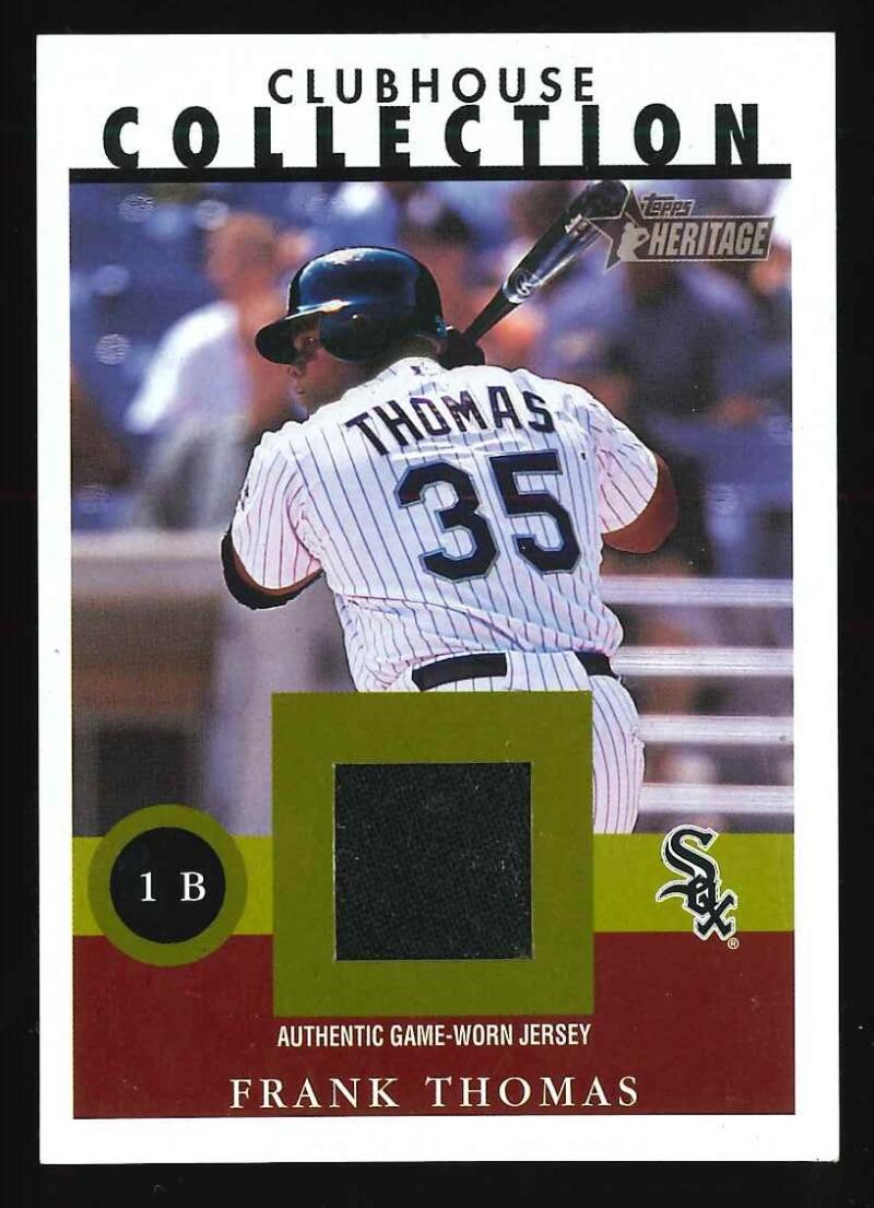 2001 Topps Heritage Clubhouse Collection