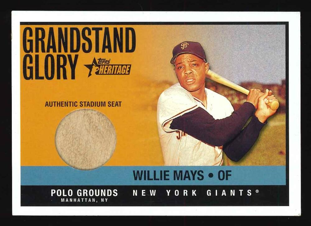 2001 Topps Heritage Grandstand Glory