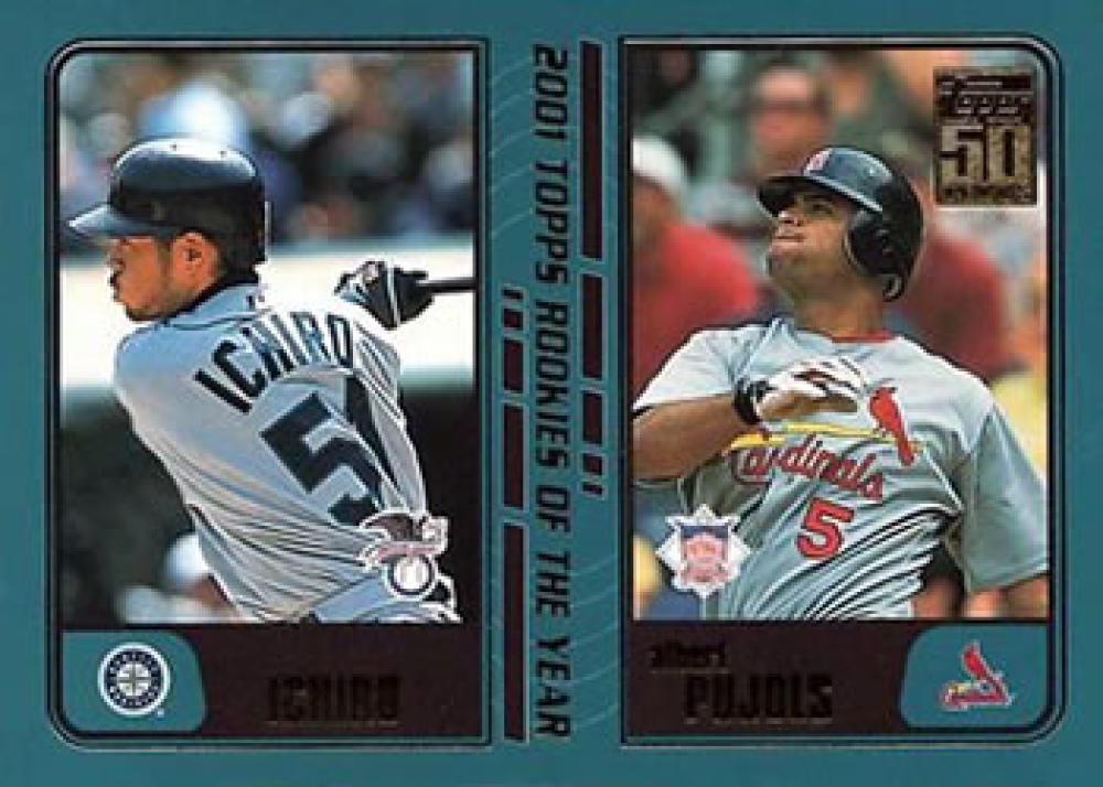 2001 Topps Traded and Rookies