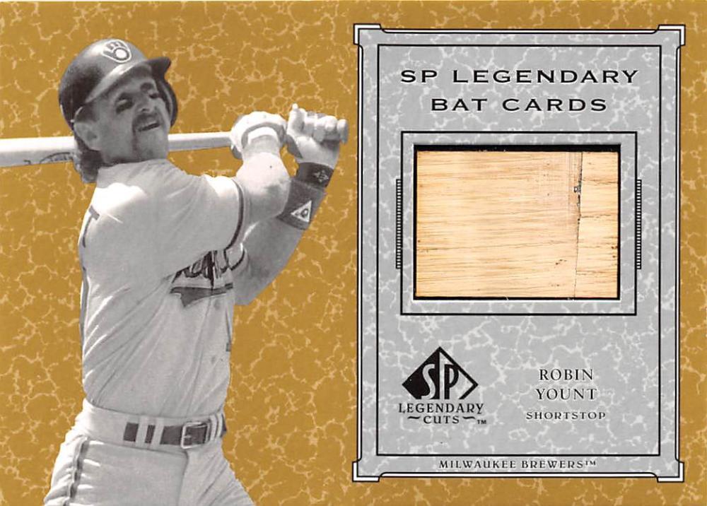 2001 SP Legendary Cuts  Game Bat