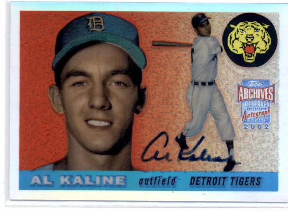 2002 Topps Archives Reserve Autographs