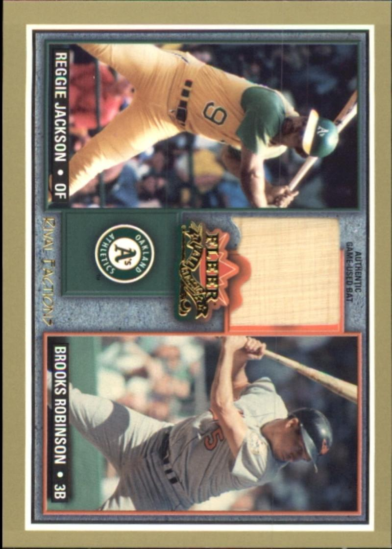 2002 Fleer Fall Classics Rival Factions Game Used