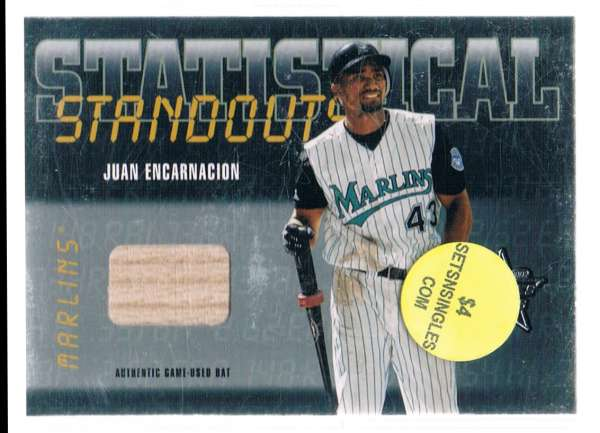 2002 Leaf Rookies and Stars Statistical Standouts Materials