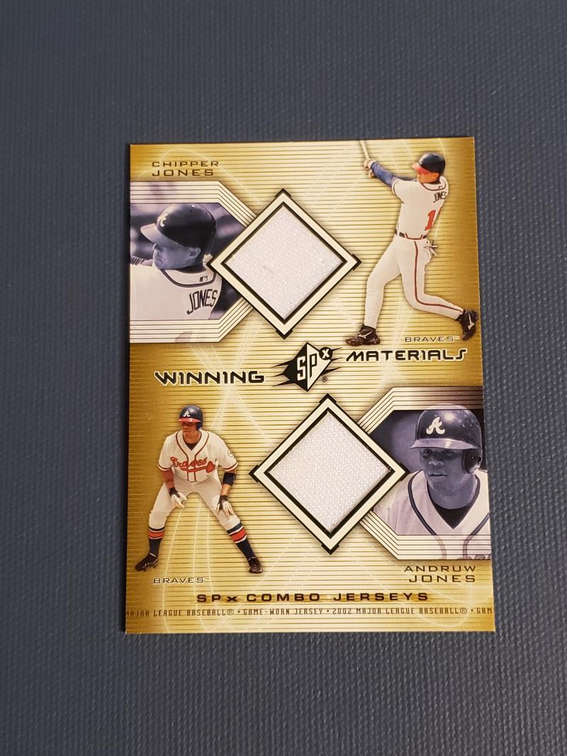 2002 SPx  Winning Materials 2-Player Jersey Combos