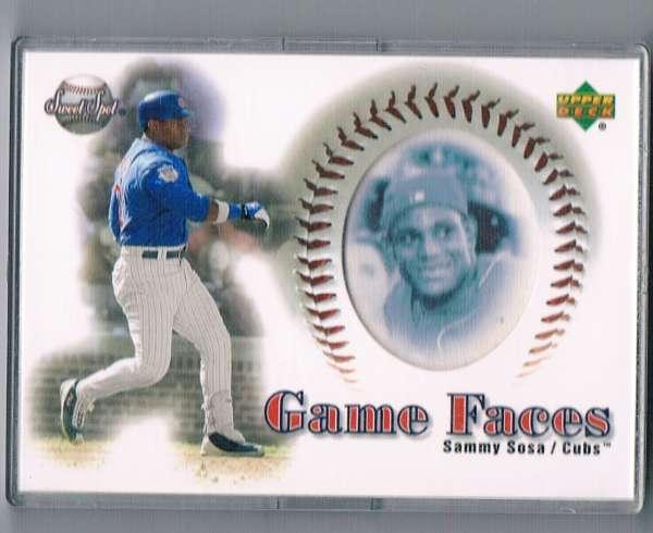 2002 Sweet Spot  Game Face Blue Portraits