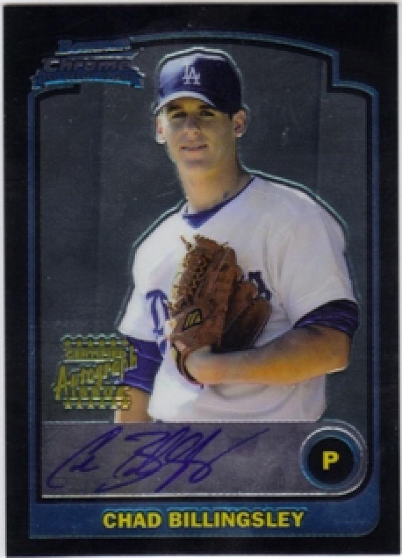2003 Bowman Chrome Draft Picks and Prospects