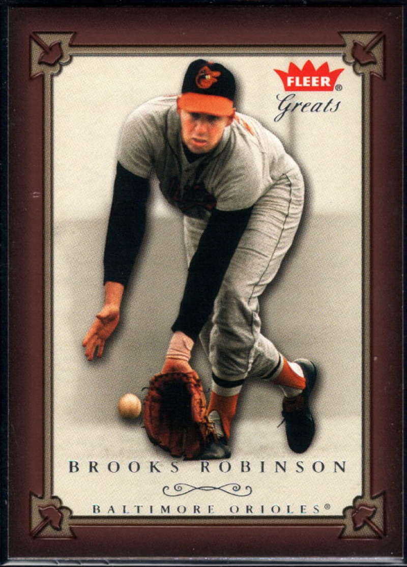 Brooks Robinson 2004 Greats of the Game #32 Orioles
