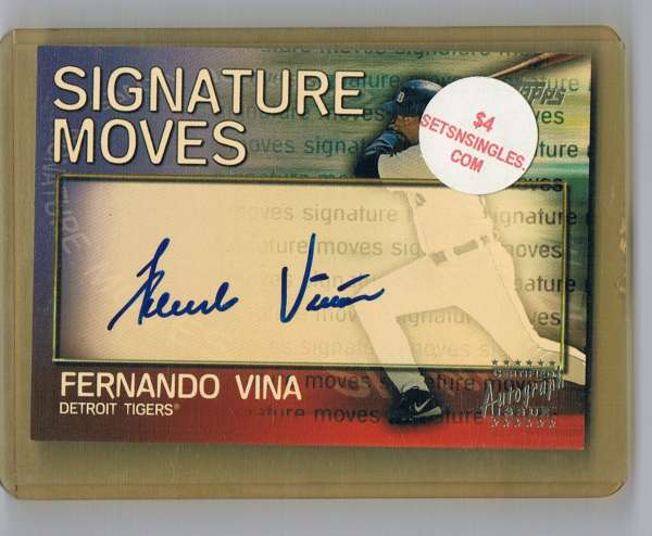 2004 Topps Traded Signature Moves
