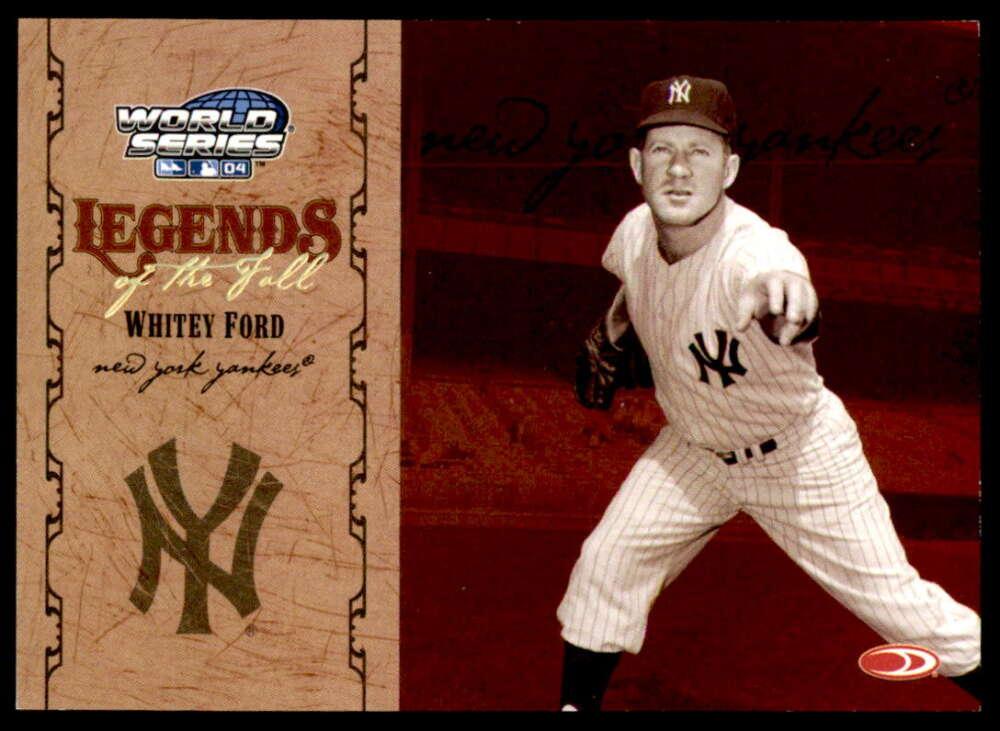 2004 Donruss World Series Legends of the Fall