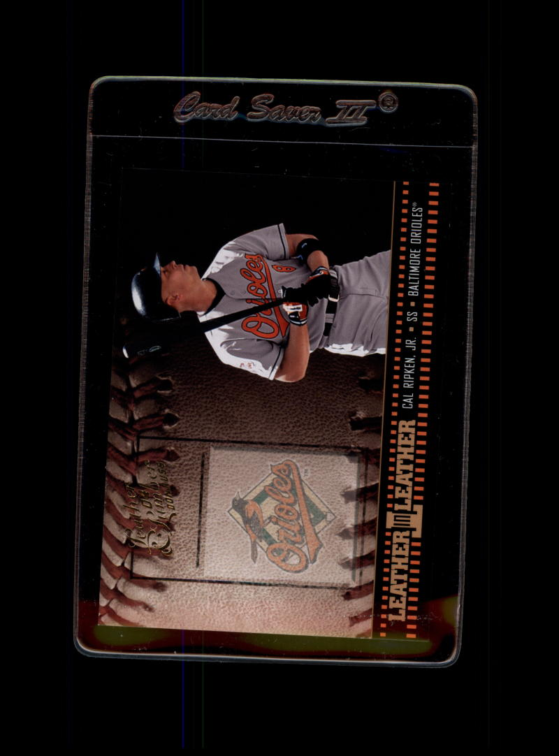 2004 Donruss Leather and Lumber Leather in Leather