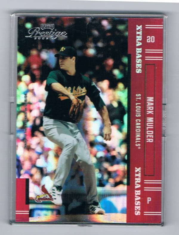 2005 Playoff Prestige Xtra Bases Red