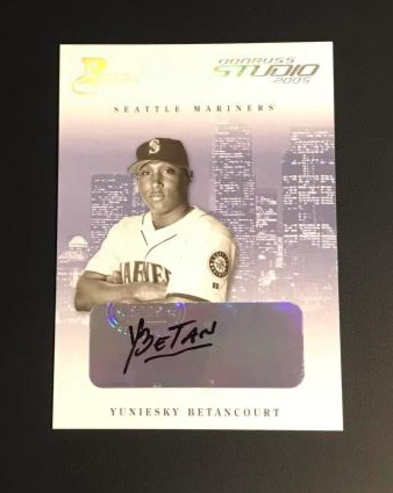 2005 Donruss Studio Private Signings Silver