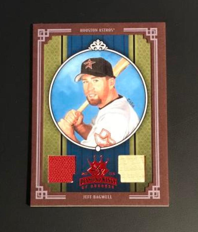 2005 Donruss Diamond Kings Materials Framed Red