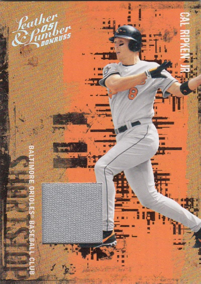 2005 Donruss Leather and Lumber Materials Jersey