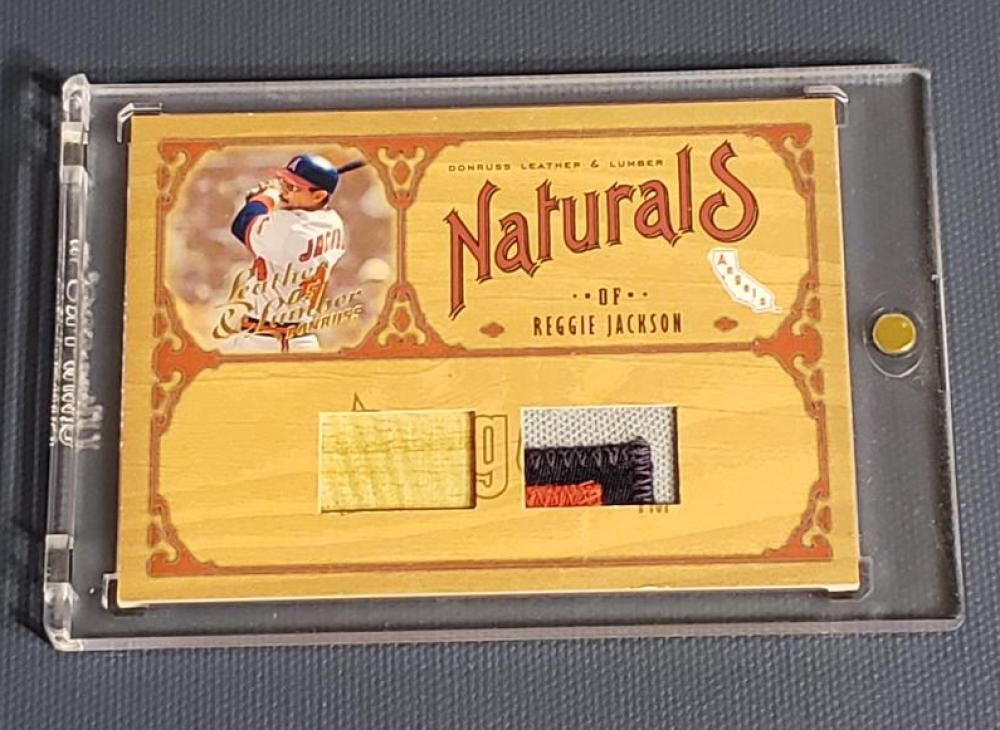 2005 Donruss Leather and Lumber Naturals Combos Prime
