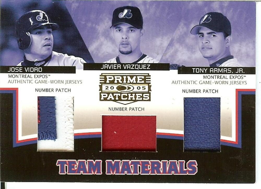 2005 Donruss Prime Patches Materials Bat