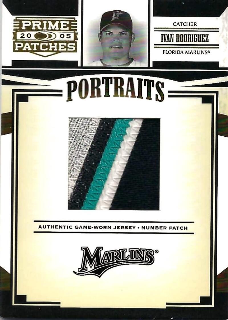 2005 Donruss Prime Patches Portraits Jersey