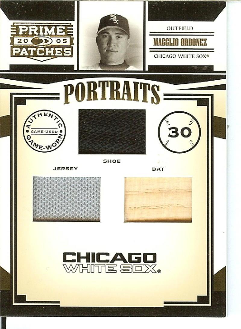 2005 Donruss Prime Patches Portraits Quad Swatch