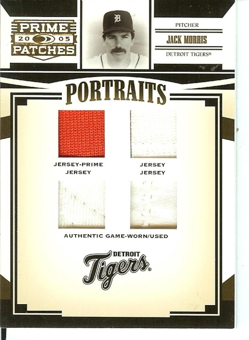 2005 Donruss Prime Patches Portraits Quad Swatch Prime