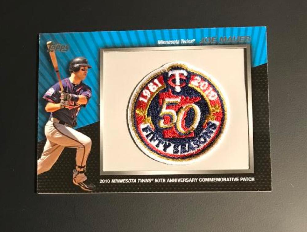 2010 Topps  Commemorative Patch