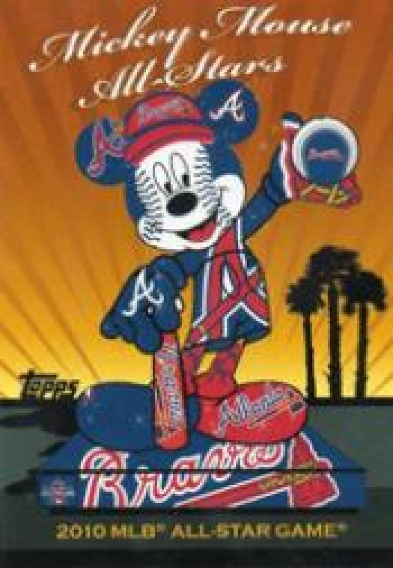 2010 Topps  Mickey Mouse All-Stars