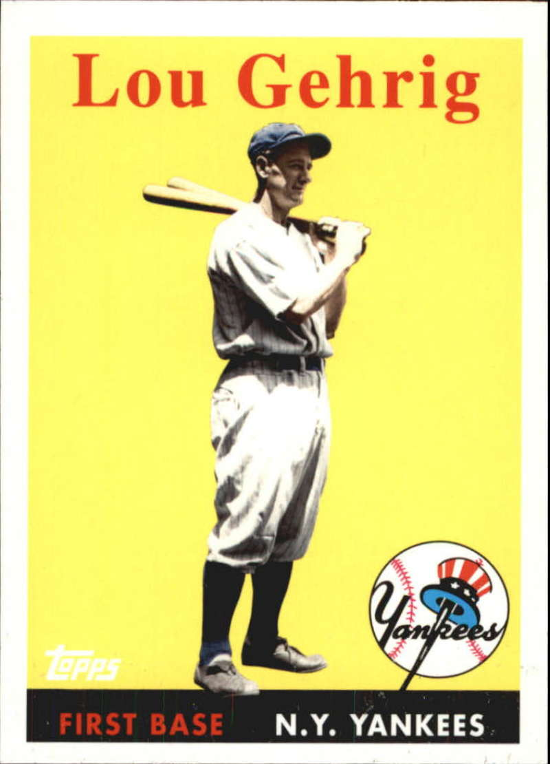 2010 Topps  Vintage Legends Collection