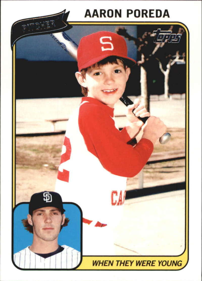 2010 Topps  When They Were Young