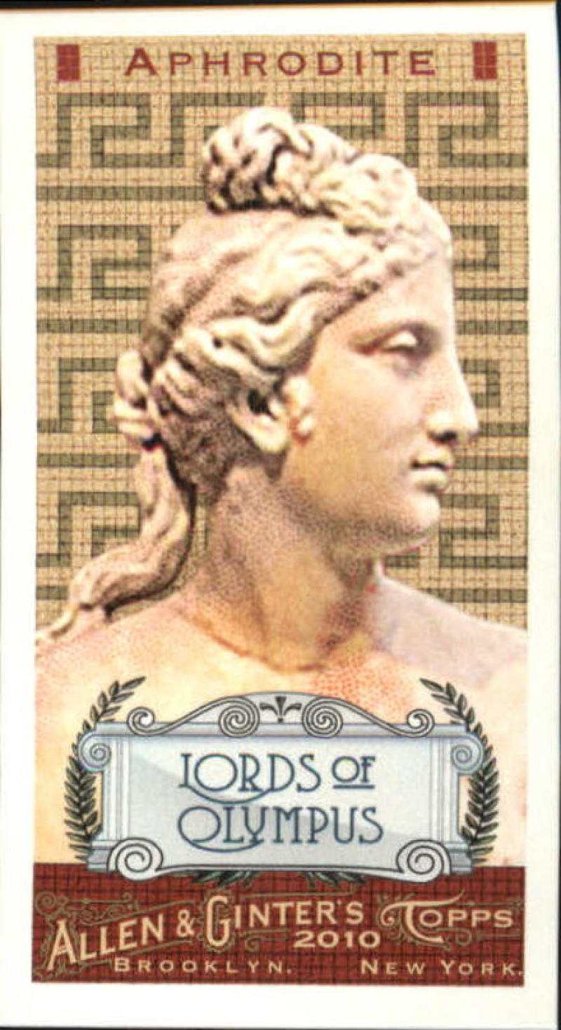 2010 Allen and Ginter  Mini Lords of Olympus