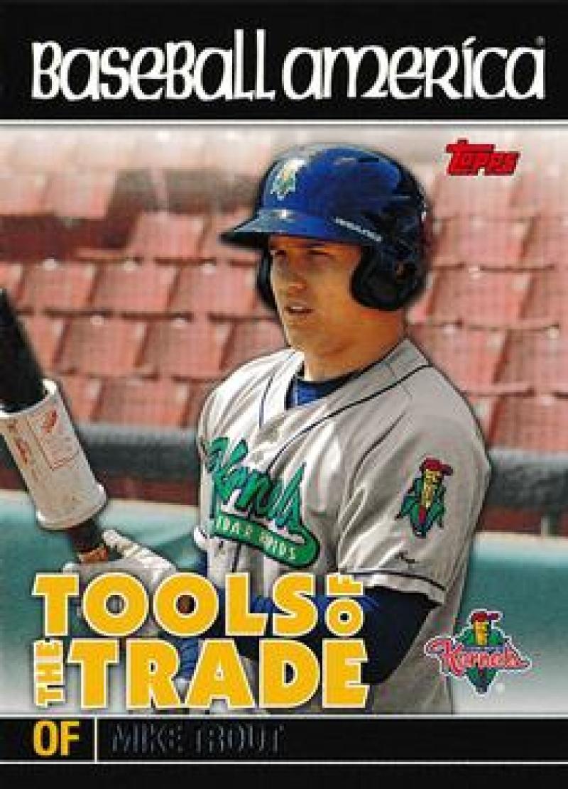 2010 Topps Pro Debut Baseball America's Tools of the Trade