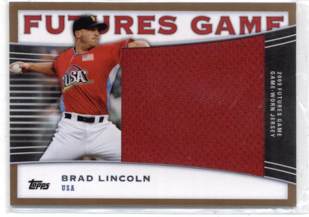 2010 Topps Pro Debut Futures Game Jersey Gold
