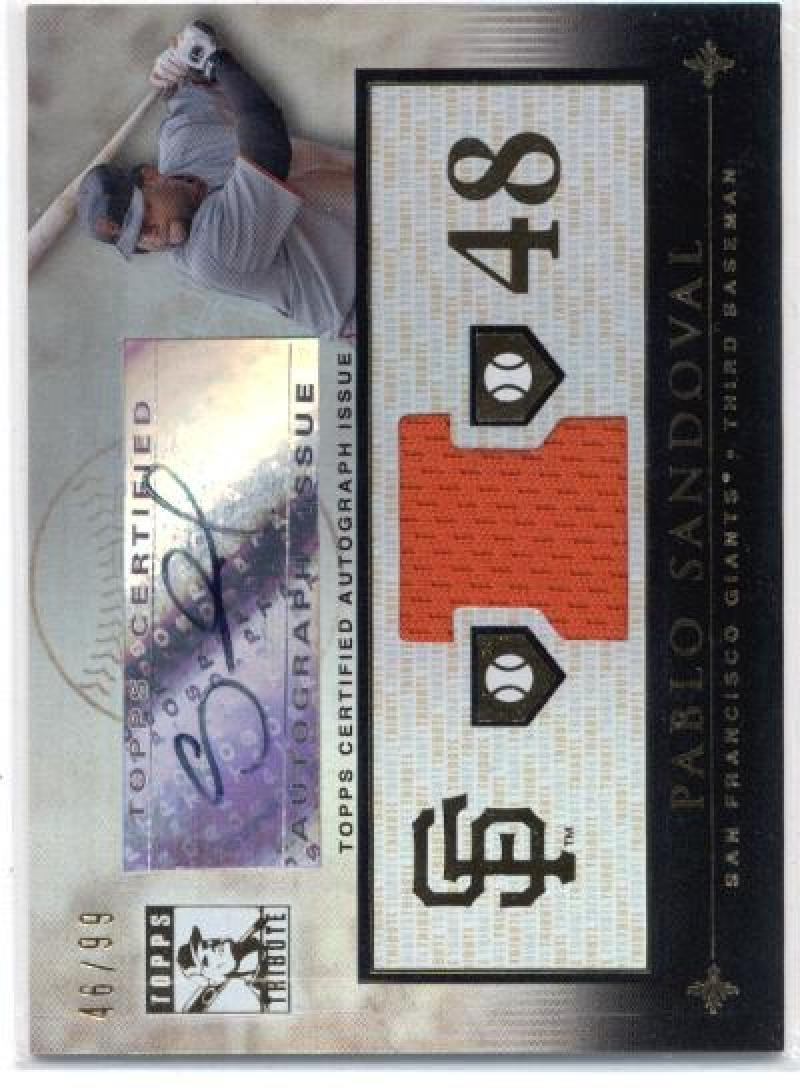 2010 Topps Tribute 2010 Topps Tribute Autograph Dual Relics