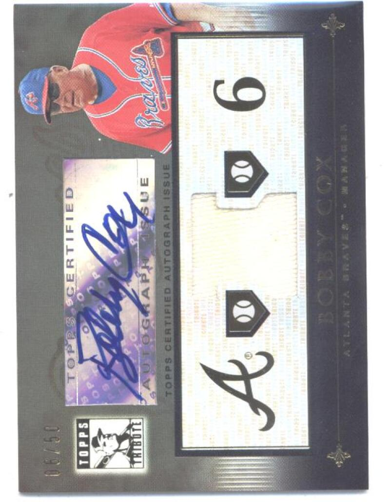 2010 Topps Tribute 2010 Topps Tribute Autograph Dual Relics Black