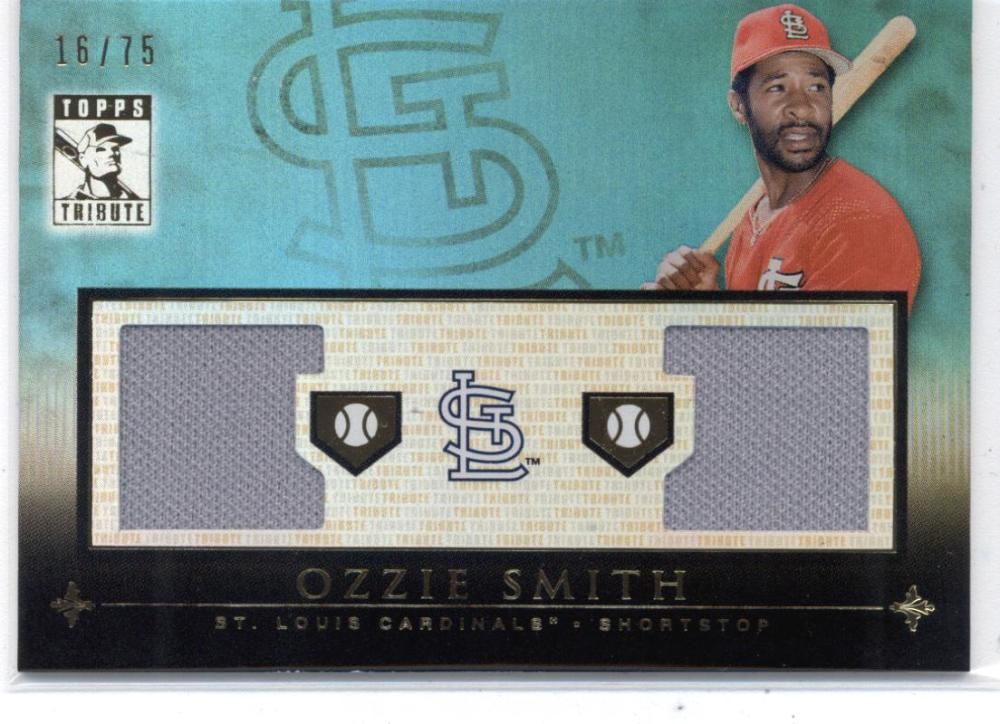 2010 Topps Tribute Relics Dual Blue