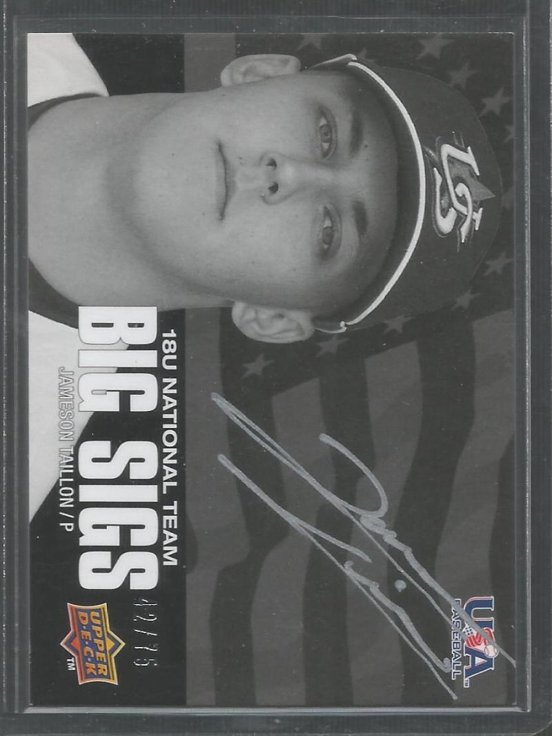 2010 Upper Deck USA Baseball Box Set Big Sigs