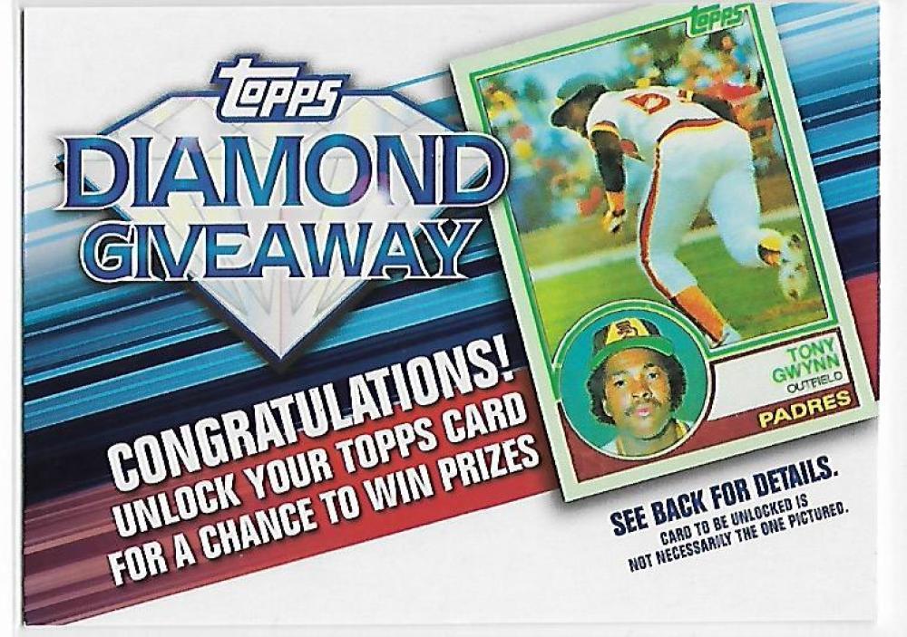 2011 Topps  Diamond Giveaway