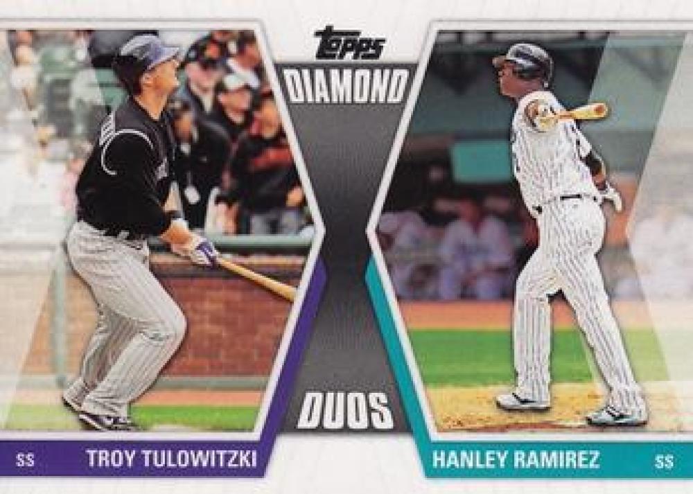 2011 Topps  Diamond Duos Series 2