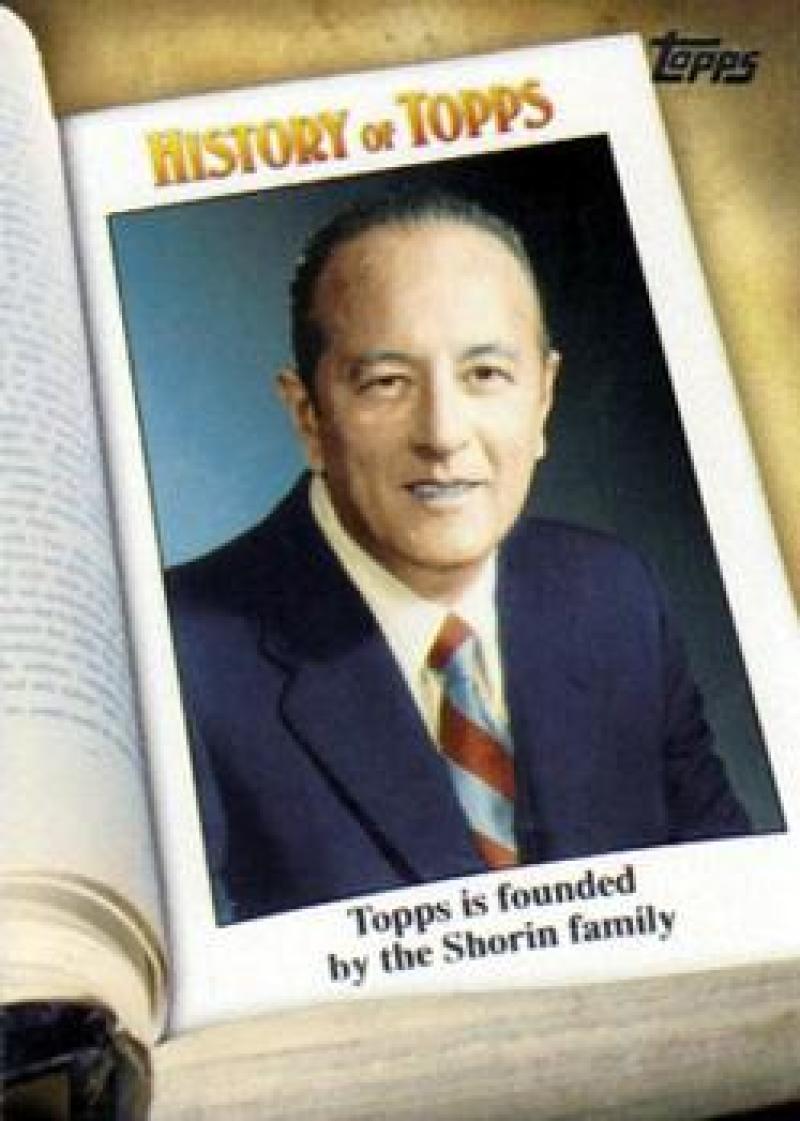 2011 Topps  History of Topps
