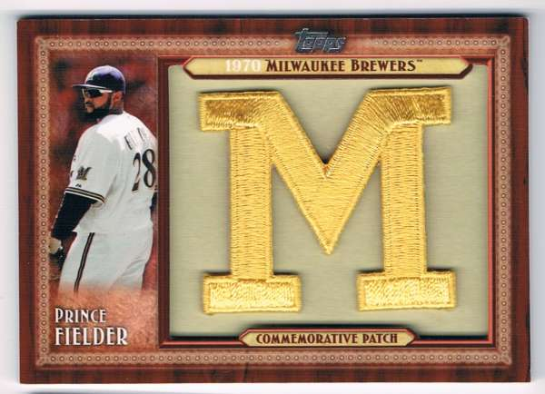 2011 Topps  Throwback Logo Manufactured Patches