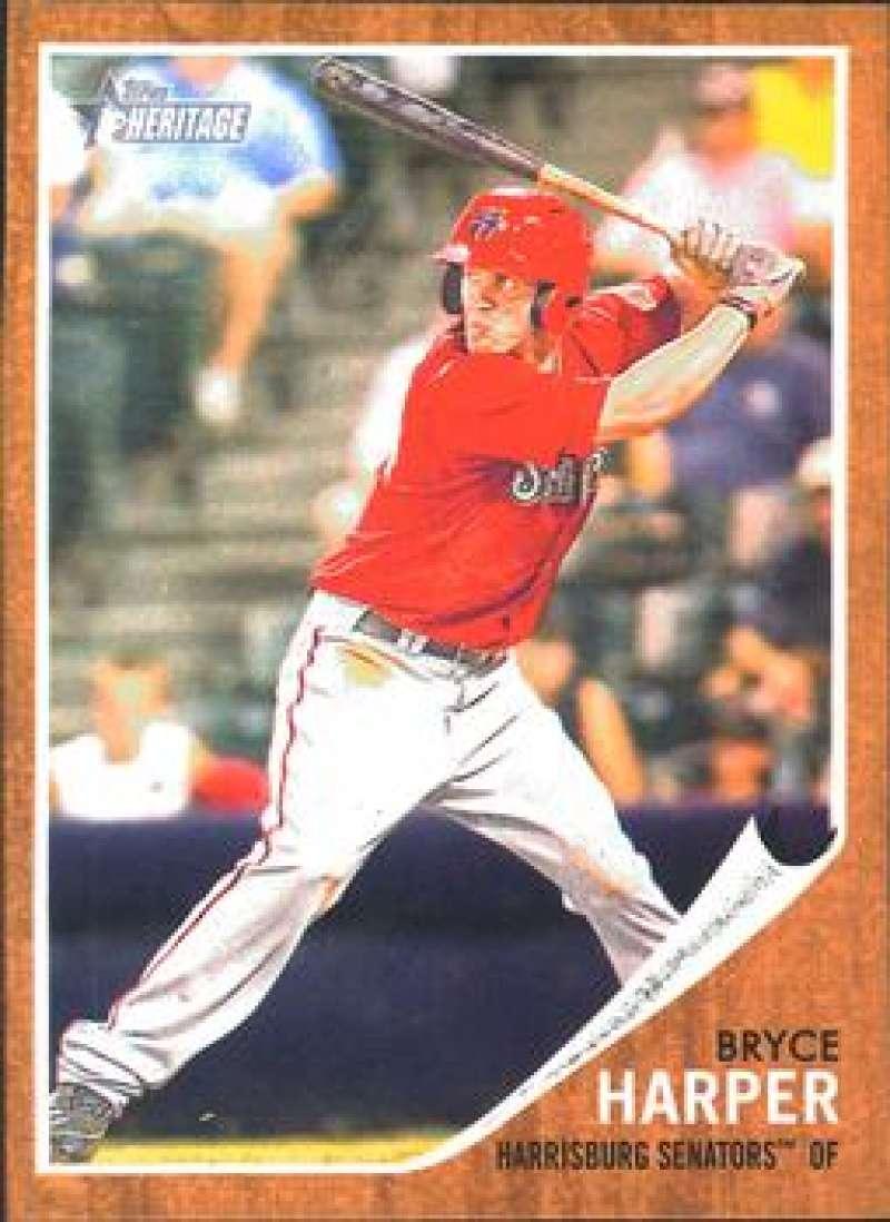 2011 Topps Heritage Minor League #16 Bryce Harper Harrisburg Senators NM-MT MLB