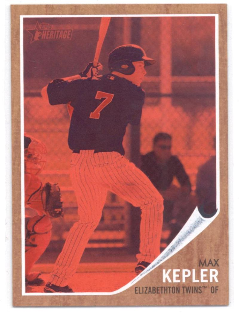 2011 Topps Heritage Minor League Red Tint