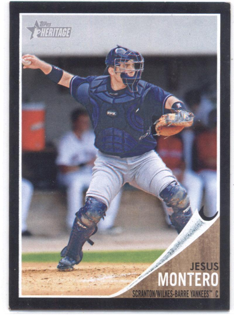 2011 Topps Heritage Minor League Blue Tint