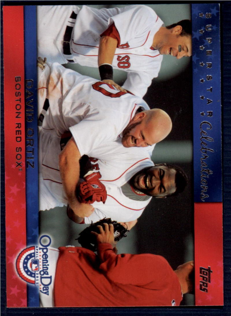 2011 Topps Opening Day Superstar Celebrations