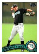 2011 Topps Pro Debut #53 Christian Yelich GCL Marlins NM-MT MLB
