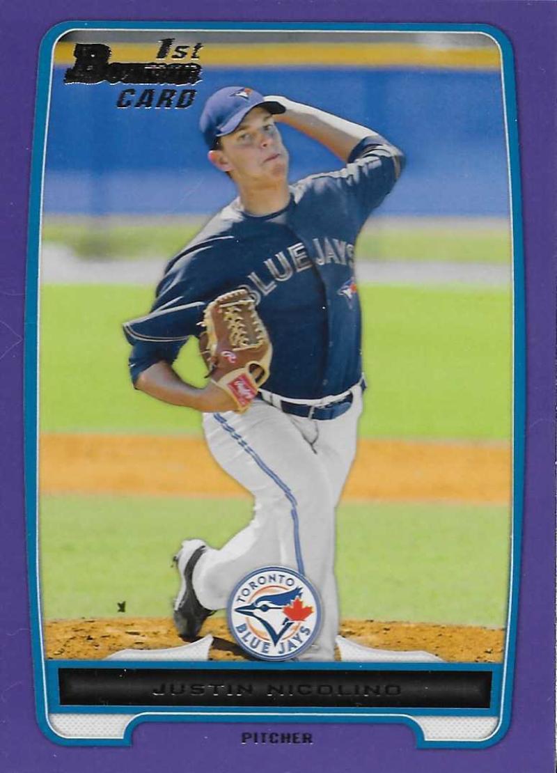 2012 Bowman  Prospects Purple