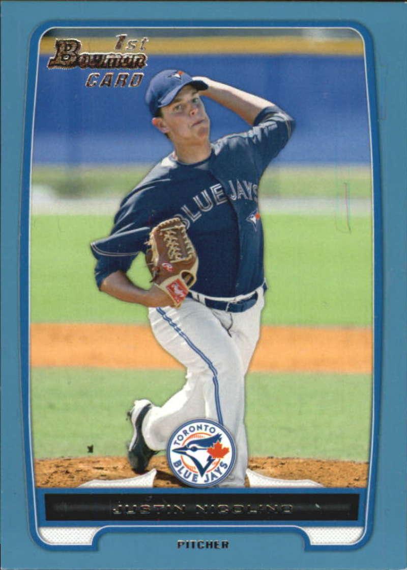 2012 Bowman  Prospects Blue