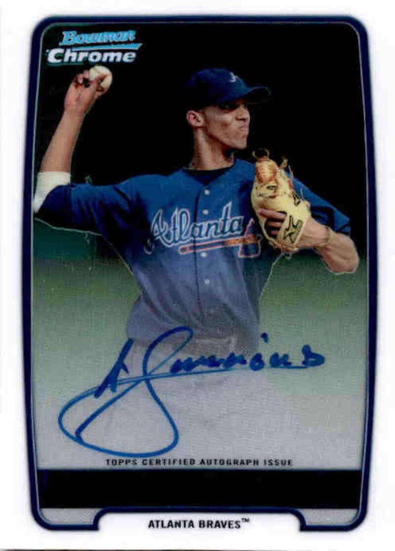2012 Bowman  Chrome Prospect Autographs