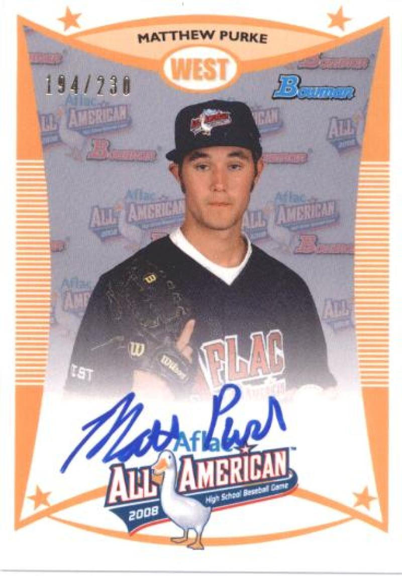 2012 Bowman  AFLAC Autographs
